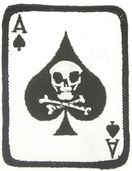 Death Card Ace of Spades Patches